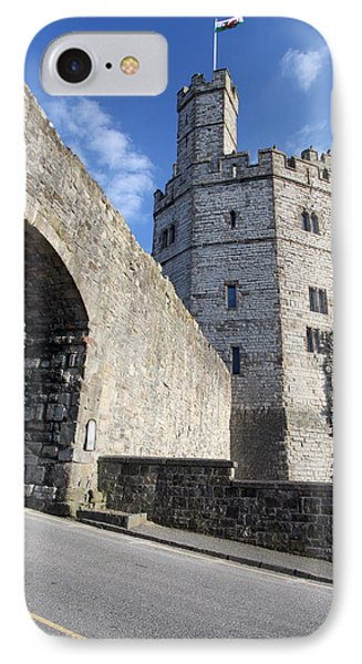 Caernarfon Castle Phone Case by Ollie Taylor