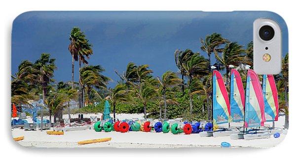 Caribbean, Bahamas, Castaway Cay IPhone Case
