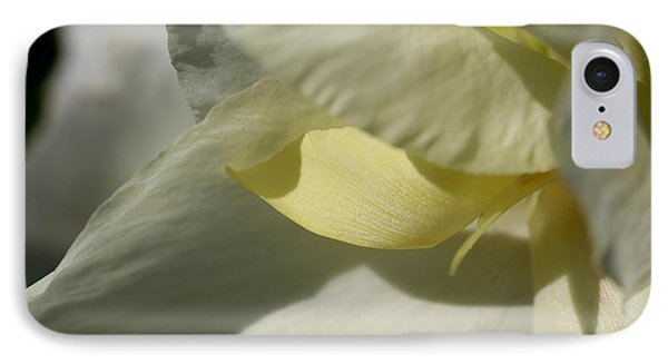 Dwarf Canna Lily Named Ermine Phone Case by J McCombie