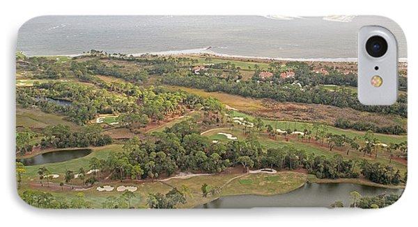 East Coast Aerial Near Jekyll Island Phone Case by Betsy Knapp