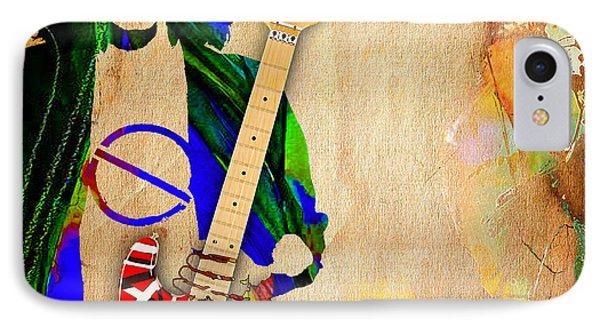 Van Halen iPhone 7 Case - Eddie Van Halen Special Edition by Marvin Blaine