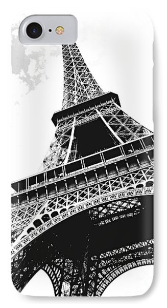 Paris iPhone 7 Case - Eiffel Tower by Elena Elisseeva