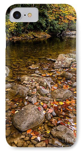 Fall Color Gauley River IPhone Case by Thomas R Fletcher