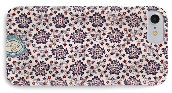 French Fabrics First Half Of The Nineteenth Century 1800 IPhone Case