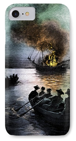 Gaspee Affair, 1772 IPhone Case by Science Source