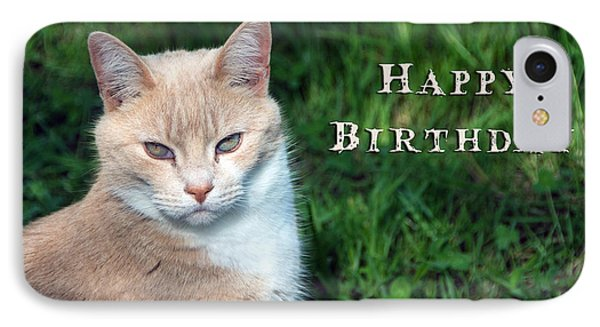 Happy Birthday IPhone Case by Michele Wright