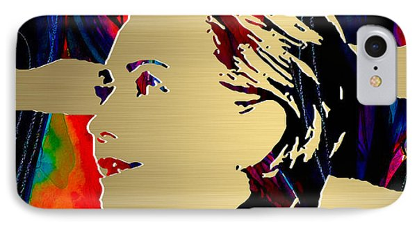 Hillary Clinton Gold Series IPhone 7 Case by Marvin Blaine