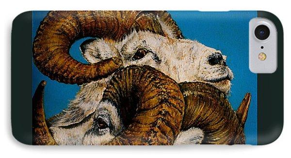Horns IPhone Case by Linda Simon