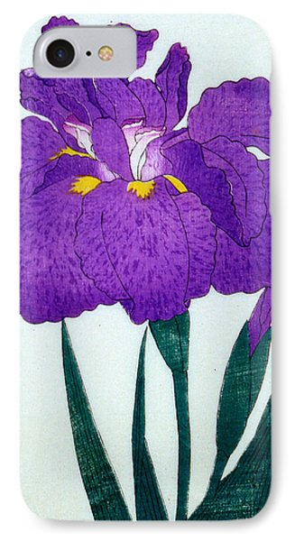 Japanese Flower IPhone Case