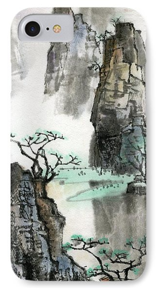 Landscape IPhone Case by Ping Yan