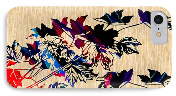 Leaves Painting IPhone Case