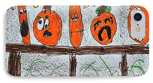 5 Little Pumpkins IPhone Case