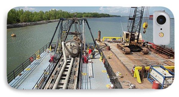 Louisiana Wetlands Restoration Project IPhone Case by Jim West