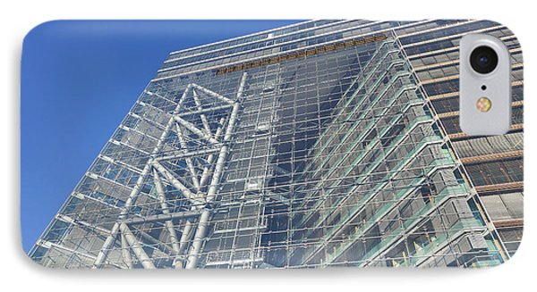 Low Angle View Of An Office Building IPhone Case by Panoramic Images