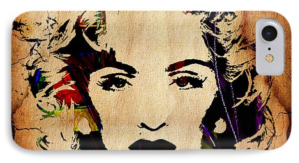Madonna Collection IPhone Case by Marvin Blaine