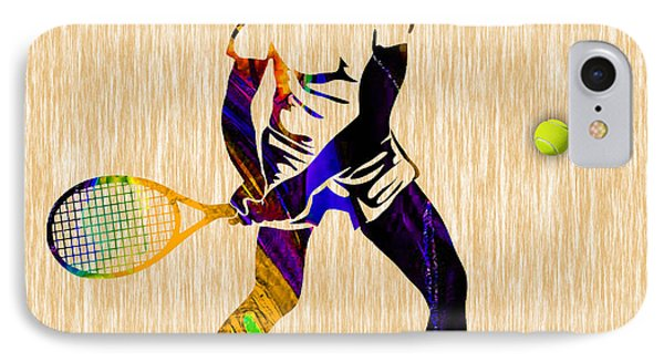 Mens Tennis IPhone Case by Marvin Blaine