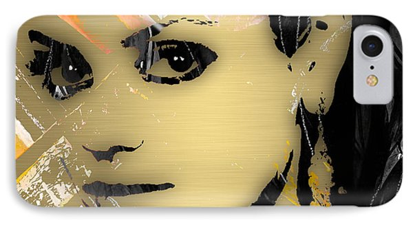Mila Kunis Collection IPhone Case by Marvin Blaine