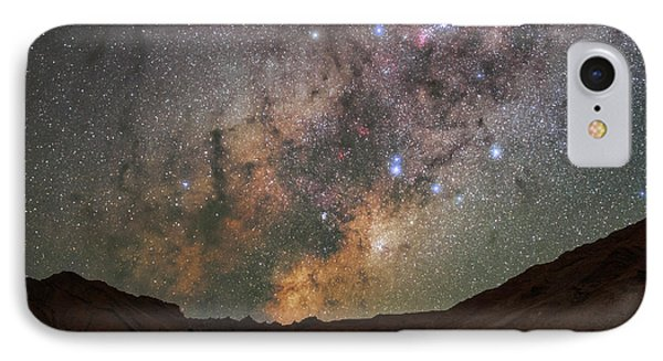 Milky Way Over The Atacama Desert IPhone Case by Babak Tafreshi