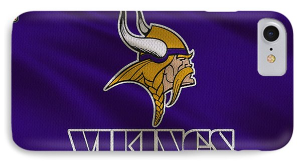 Minnesota Vikings Uniform IPhone Case by Joe Hamilton