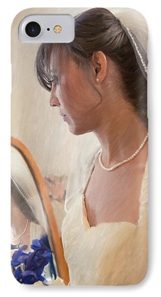 5 More Minutes And Married IPhone Case by Angela A Stanton