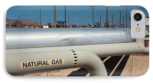 Natural Gas Pipelines IPhone Case