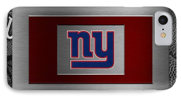 New York Giants Phone Case by Joe Hamilton