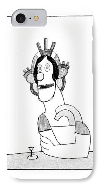 New Yorker February 23rd, 1976 IPhone Case by Saul Steinberg