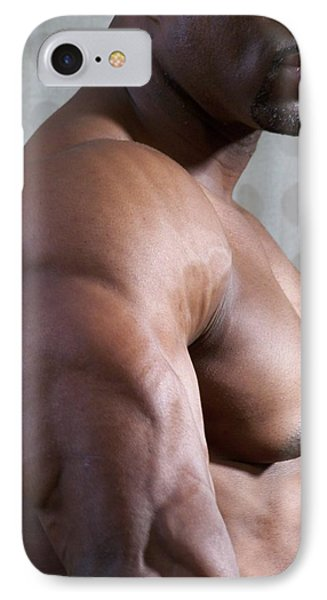 Nubian Warrior IPhone Case by Jake Hartz