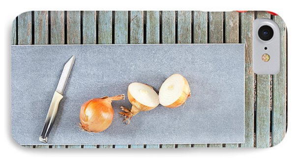 Onions IPhone Case by Tom Gowanlock