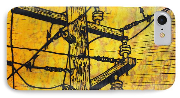 Power Lines IPhone Case