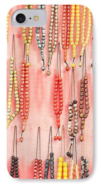 Prayer Beads IPhone Case by Tom Gowanlock