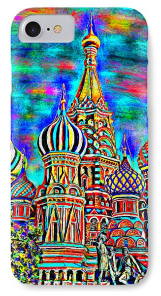 Rainbow Temple IPhone Case by Bruce Nutting