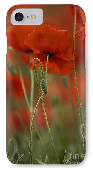 Red IPhone Case by Nailia Schwarz