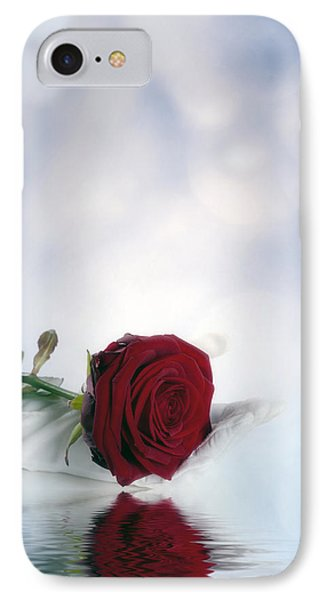 Red Rose Phone Case by Joana Kruse