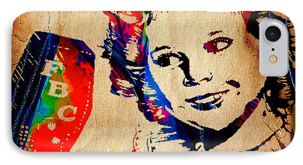 Shirley Temple Collection IPhone Case by Marvin Blaine