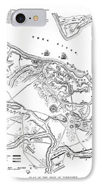 Siege Of Yorktown, 1781 Phone Case by Granger