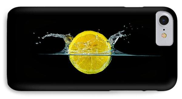 Splashing Lemon IPhone Case