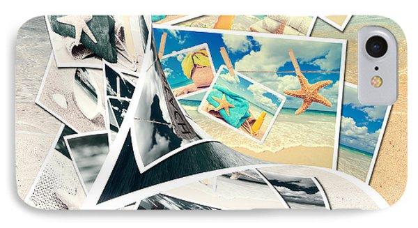 Summer Postcards Phone Case by Amanda Elwell