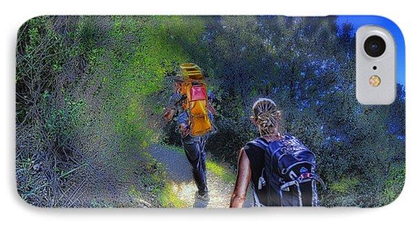 5 Terre Monterosso Trekking In Passeggiate A Levante Phone Case by Enrico Pelos