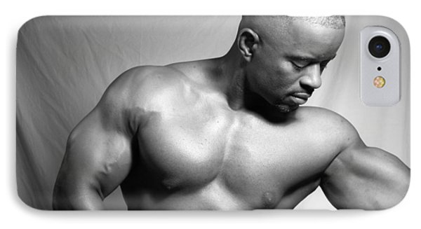 IPhone Case featuring the photograph The Bodybuilder by Jake Hartz