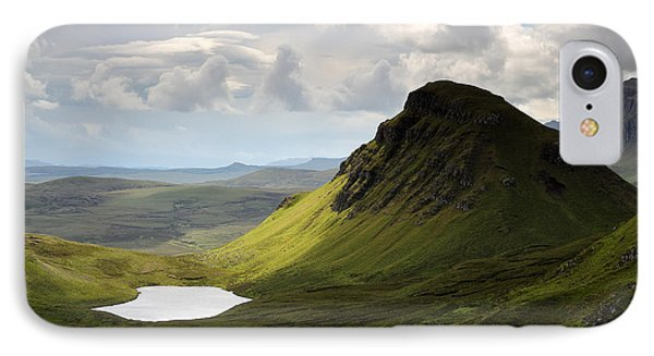 The Quiraing IPhone Case by Grant Glendinning
