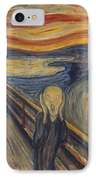 The Scream IPhone Case by Mountain Dreams