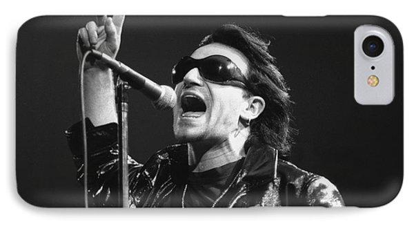 Bono iPhone 7 Case - U2 - Bono by Concert Photos