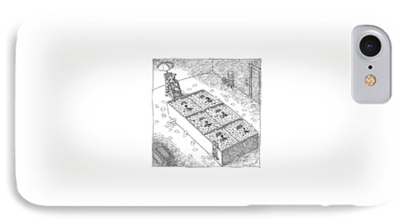 Captionless; Paper Cubicles IPhone Case