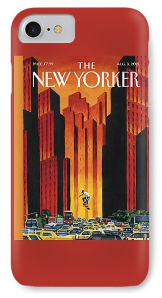 New Yorker August 3rd, 2015 IPhone Case