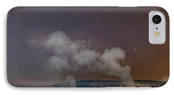 Usa, Wyoming, Yellowstone National Park IPhone Case by Jaynes Gallery