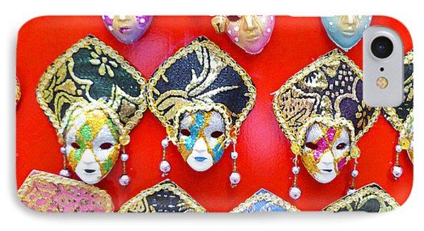 Venetian Masks  IPhone Case by Irina Sztukowski