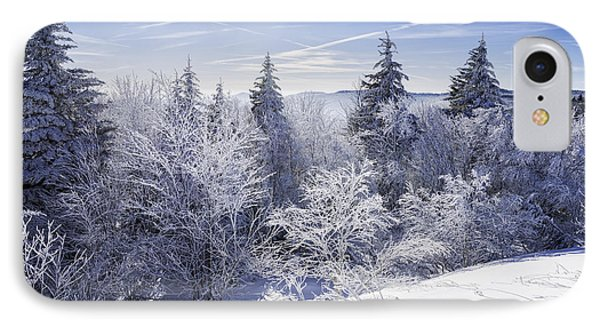 Winter Along The Highland Scenic Highway Phone Case by Thomas R Fletcher