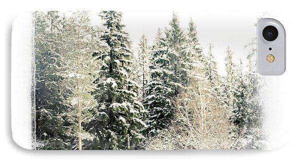 Winter Wonderland. Elegant Knickknacks From Jennyrainbow Phone Case by Jenny Rainbow