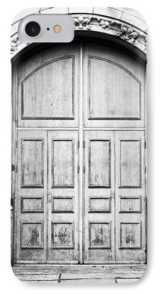 Wooden Door IPhone Case